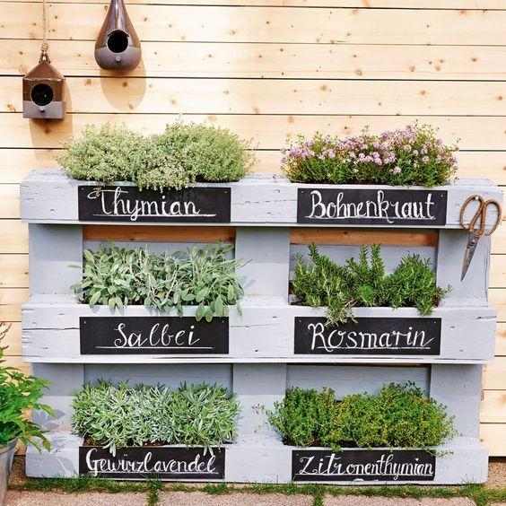 Mini-Gärten auf dem Balkon: So einfach geht's | Wunderweib #vorgartenideen