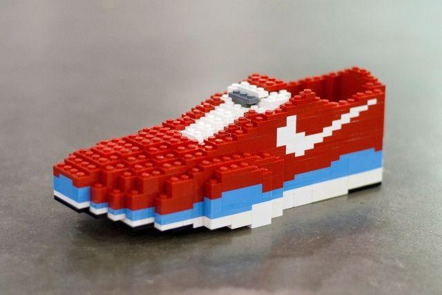 chaussure nike en lego