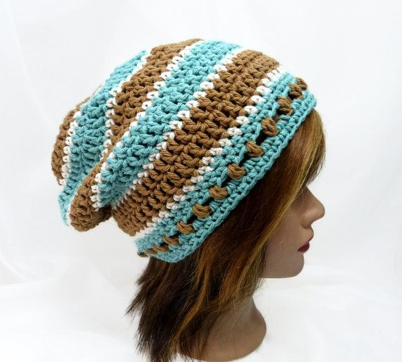 Threads of Coolness Summertime Slouchy Hat by Threadmill on Etsy, $28.00