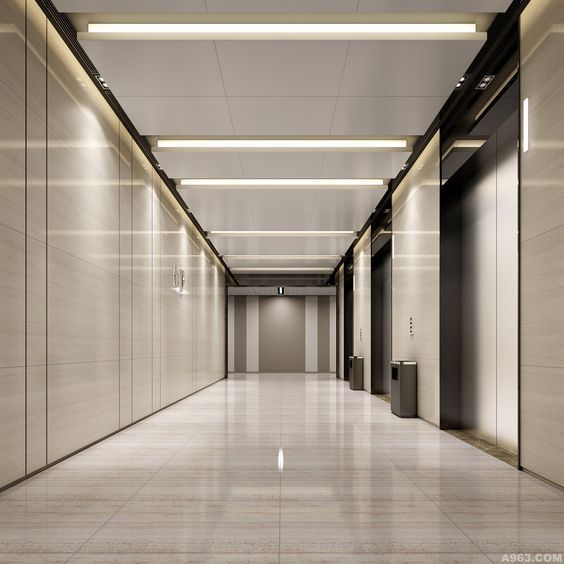 Corridor Design Ceiling: Pin By 口阿口牙 On Corridor In 2019