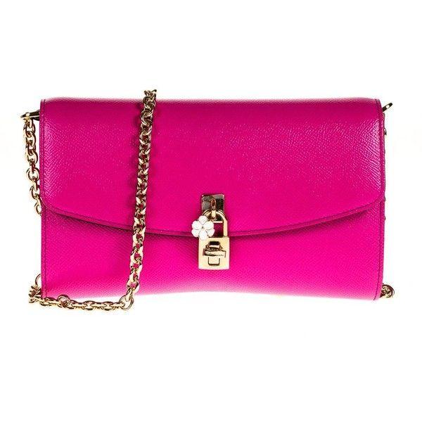 735 Polyvore bolsos Me de en con gustó Dolce Gabbana y bolsos monederos rosados ❤ mano Pochette bolsos bolsos PwqnExC