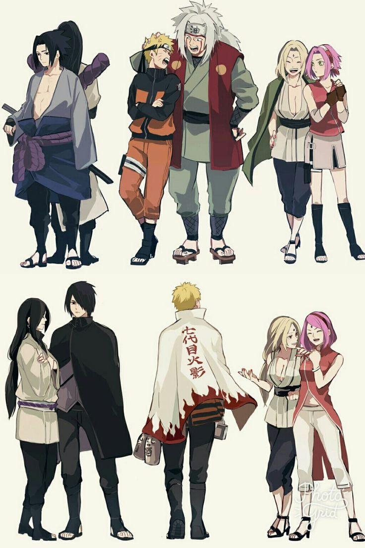 Photo of NARUTO || Sasuke Uchiwa & Orochinaru, Naruto Uzumaki & Jiraiya, Tsunade & Sakura …