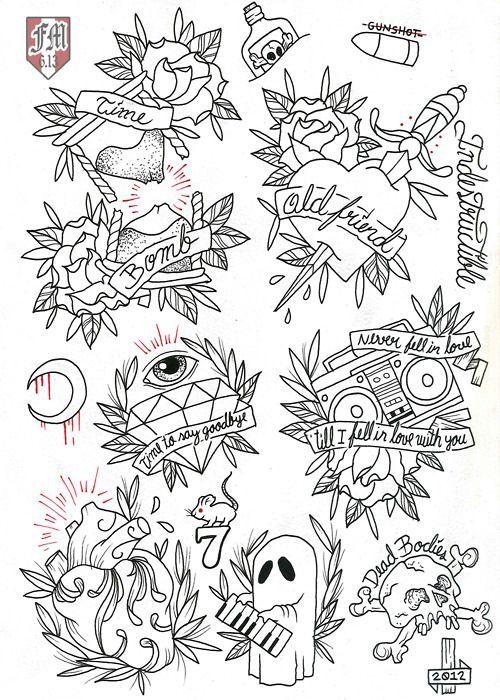 Tattoo Flash Line Drawing Converter : Pin by bob head on rancid pinterest tattoo flash