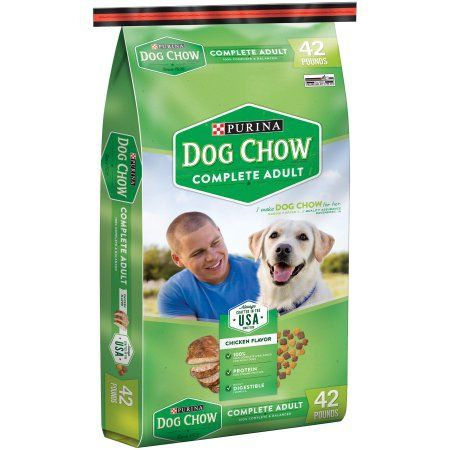 Purina Dog Chow Complete Adult Dog Food 42 Lb Bag Multicolor