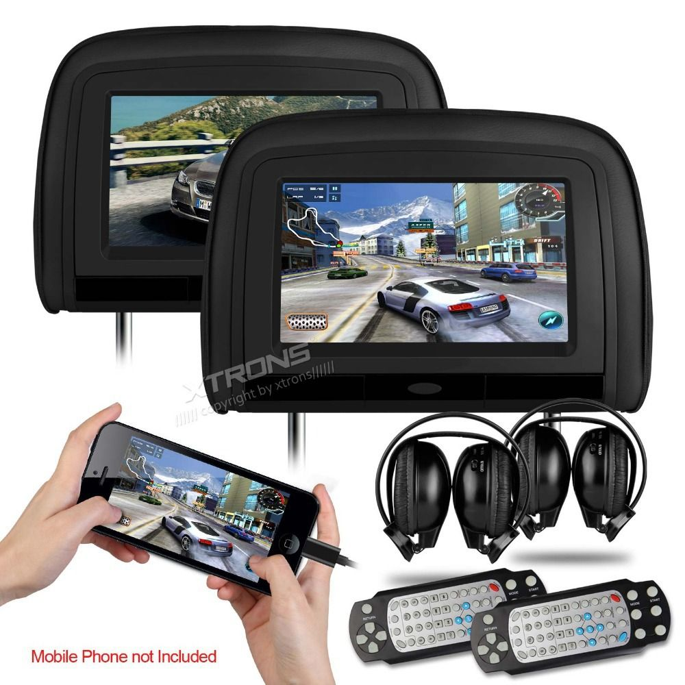 cheap headrest dvd player buy quality headrest car dvd player directly from china car headrest dvd player suppliers xtrons black digital screen car