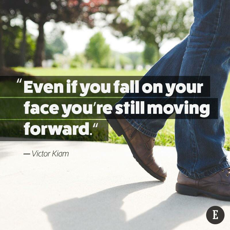 Even if you fall