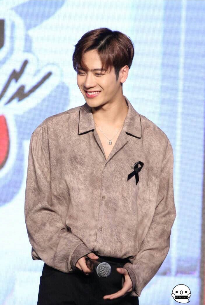 Always Smile Like That Wang Puppy We Will Beside You No Matter What Happen Got7 3rd Fanmeeting Jackson Got7 Jackson Jackson Wang