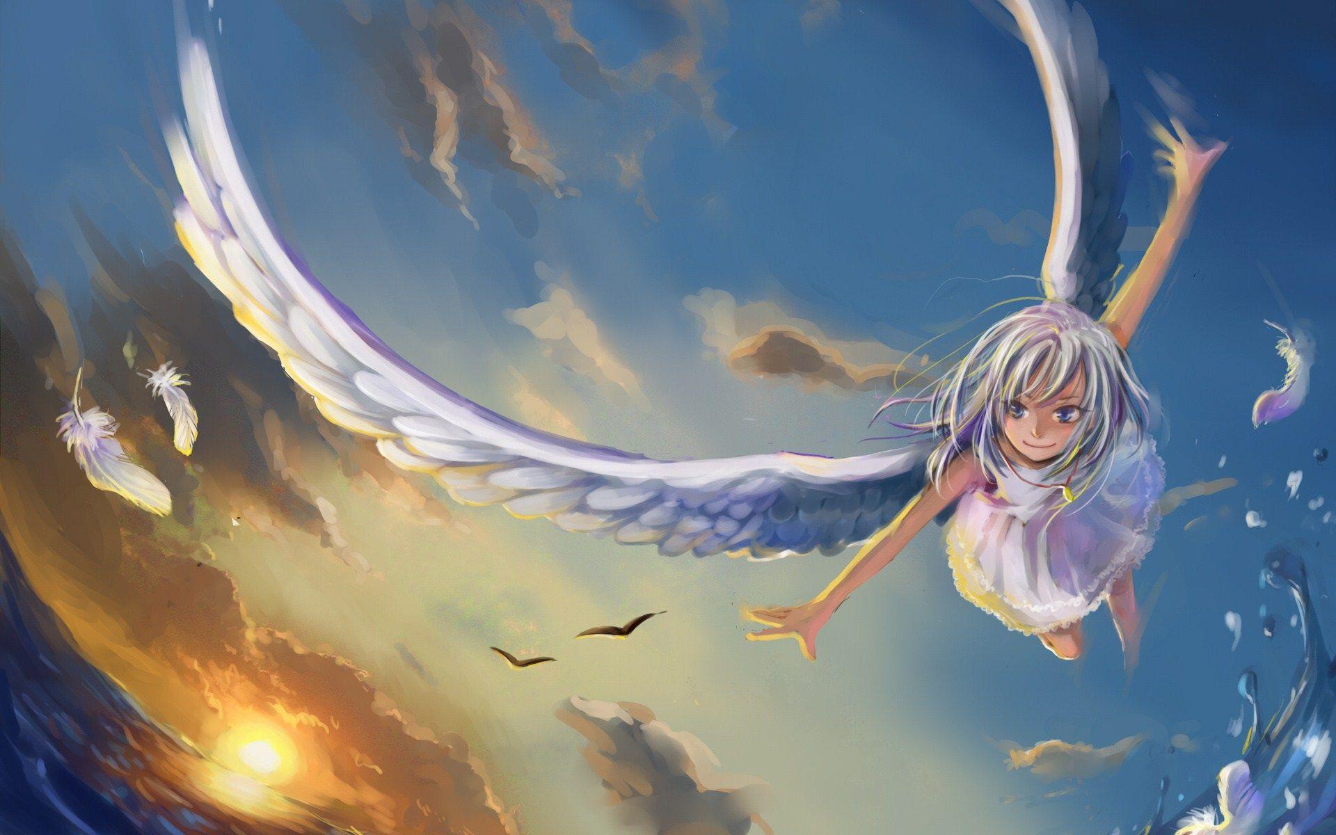 Anime angel girl anime girls manga girl manga anime anime art
