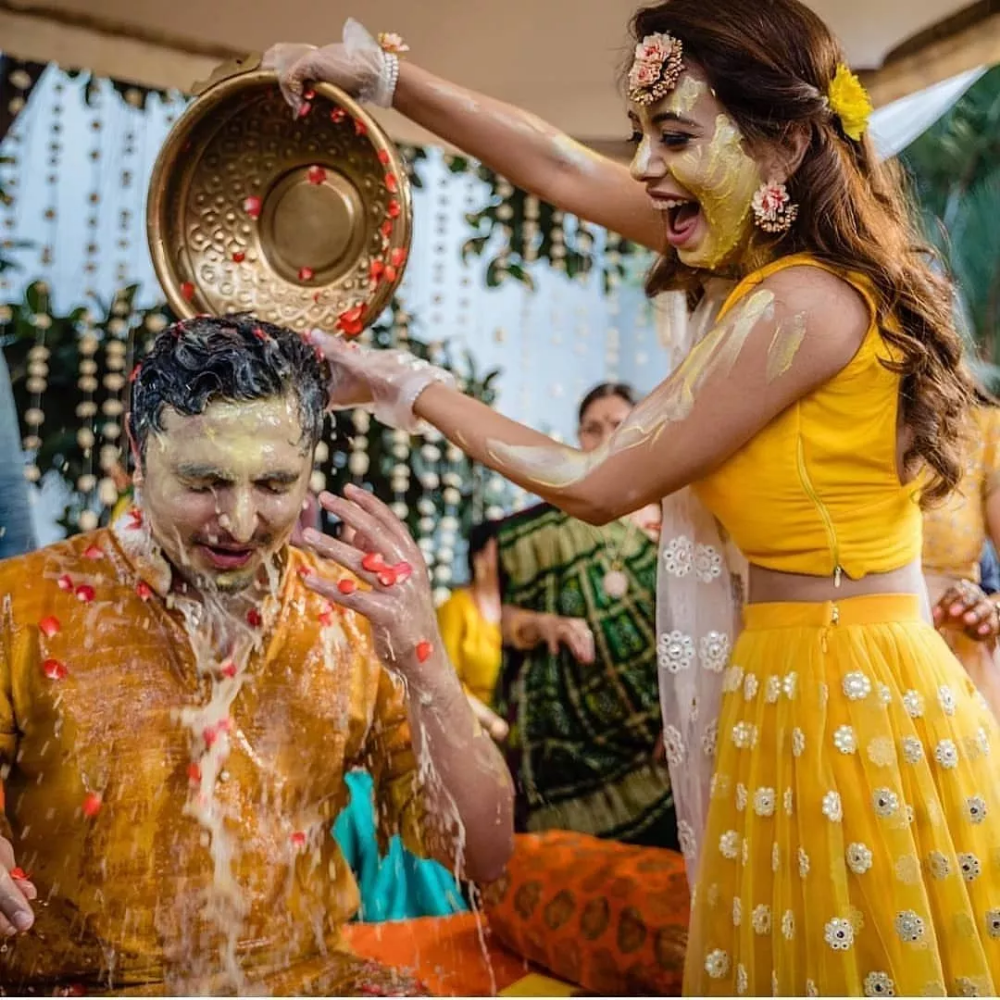 tik tok asiaticos Haldi Is Becoming More Popular amp Fun Than Mehendi amp These Photos Are Proof  Popular tik tok dances
