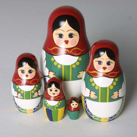 Amazon.com: Counting Red Nesting Doll: Toys & Games