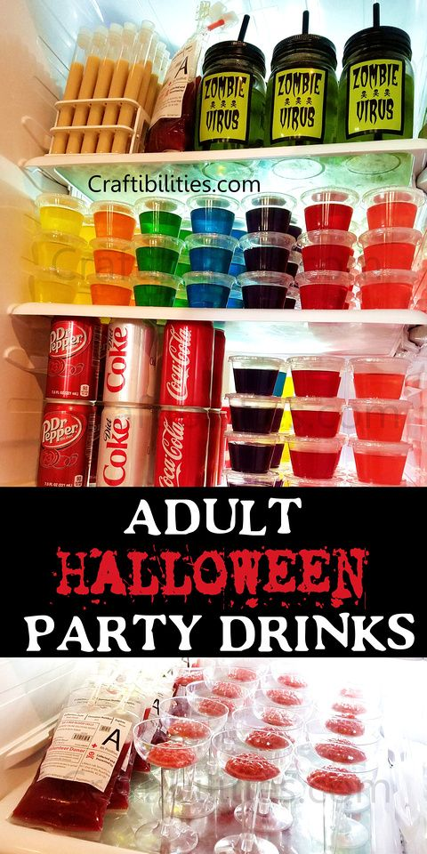 drink ideas halloween theme adult party creepy names font free downloadable