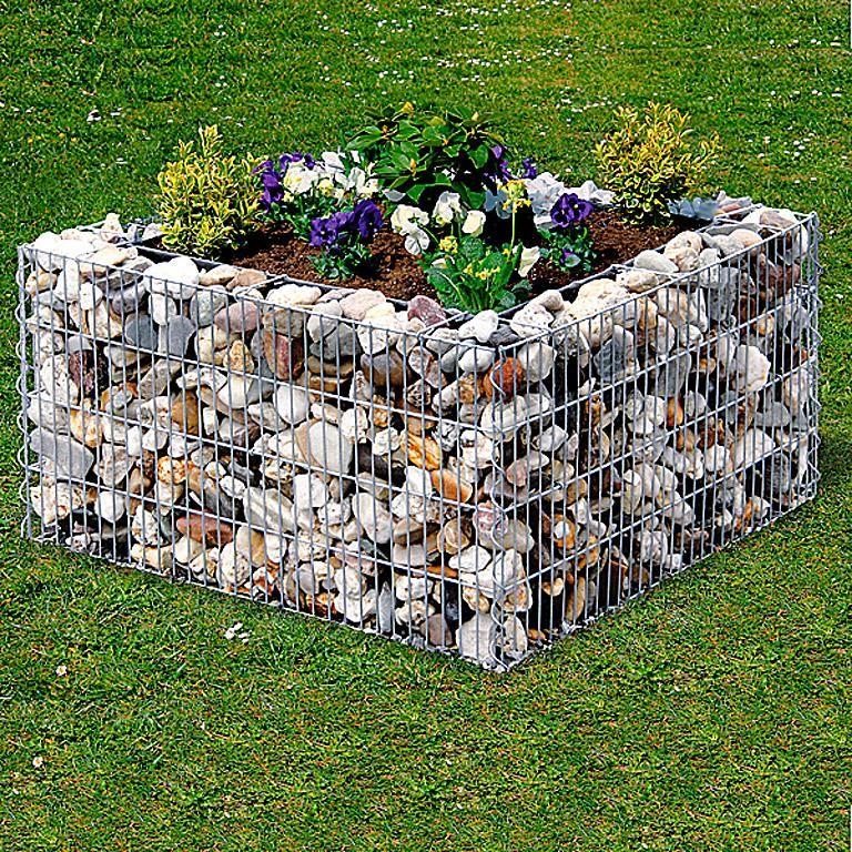 Hochbeet selber bauen und anlegen sch ner wohnen - Gabionenwand bepflanzen ...