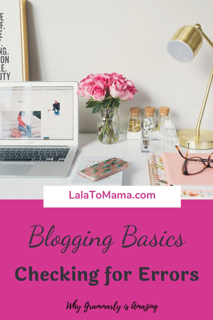Blogging Basics Checking for Errors Blog, Resume advice