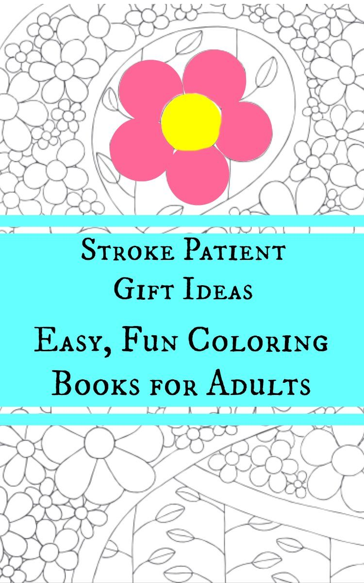 Gift ideas for stroke patients gift adult coloring and coloring gift ideas for stroke patients negle Images