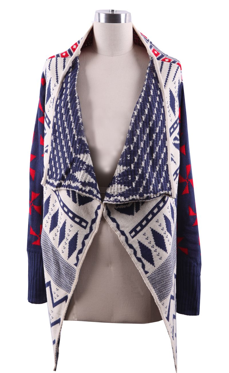Geo Tribal Cardigan- can't wait for spring, but I can use this ...