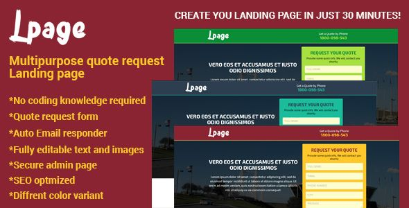 Download MultiPurpose Template With Unbounce Page Builder