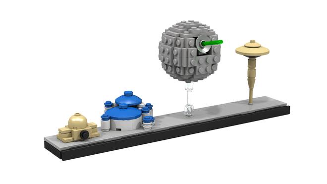Lego Star Wars Architecture Skyline