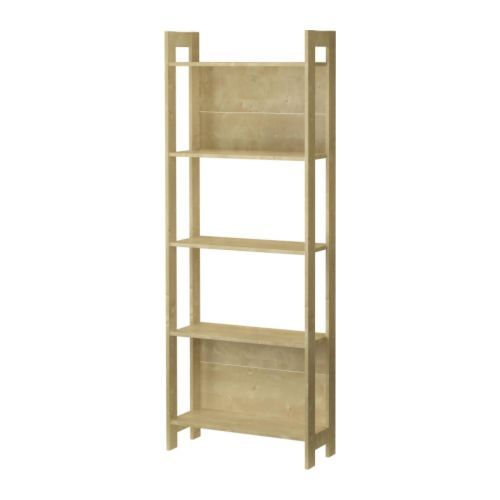 LAIVA Bookcase Birch effect 62x165 cm | Birch, Room and Living rooms