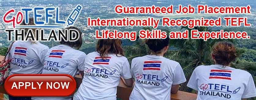 Work Opportunities in #Thailand for #Foreigners | Go TEFL