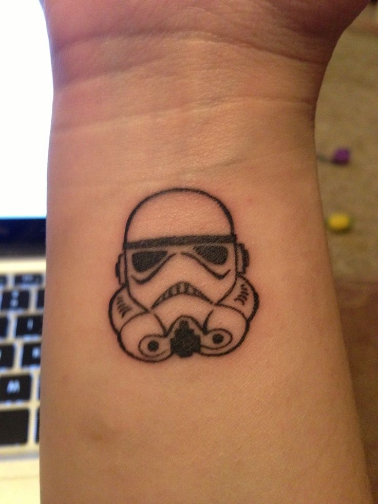 Mickey Storm Trooper Tattoo