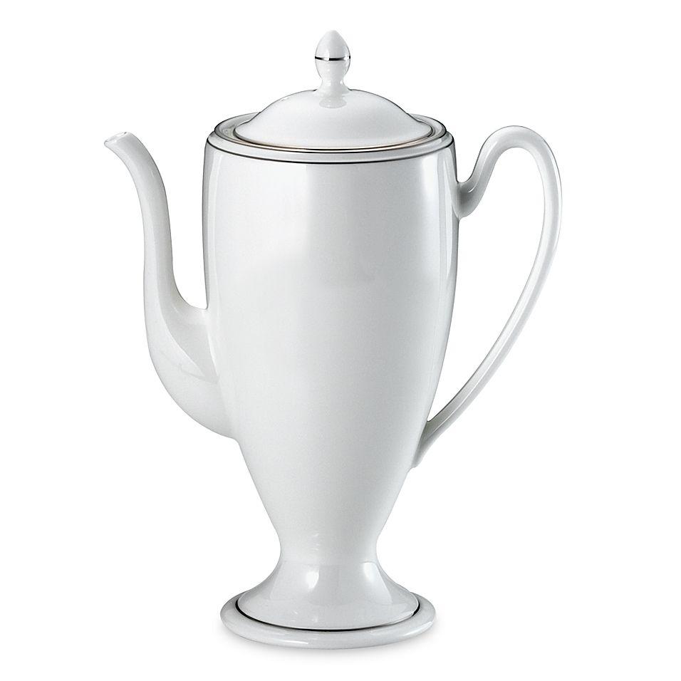 Waterford Kilbarry Platinum Coffee Server White/platinum #coffeeserver