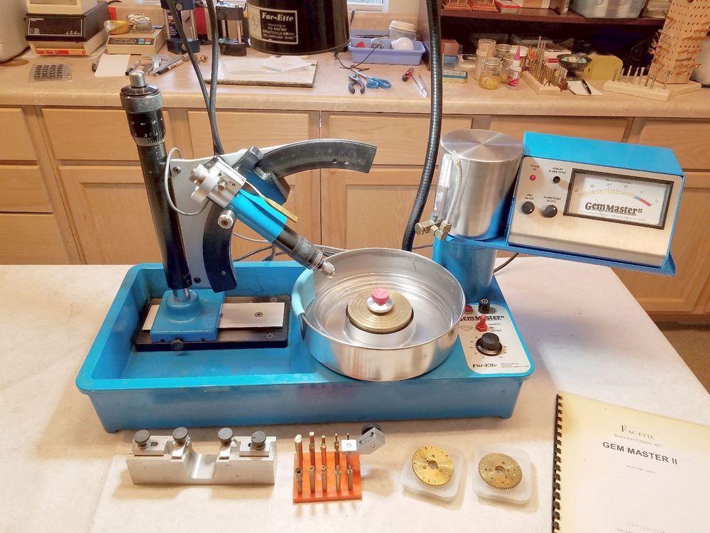 FACETTE GM 2 FACETING MACHINE LAPIDARY JEWELRY FAC-ETTE FACETER