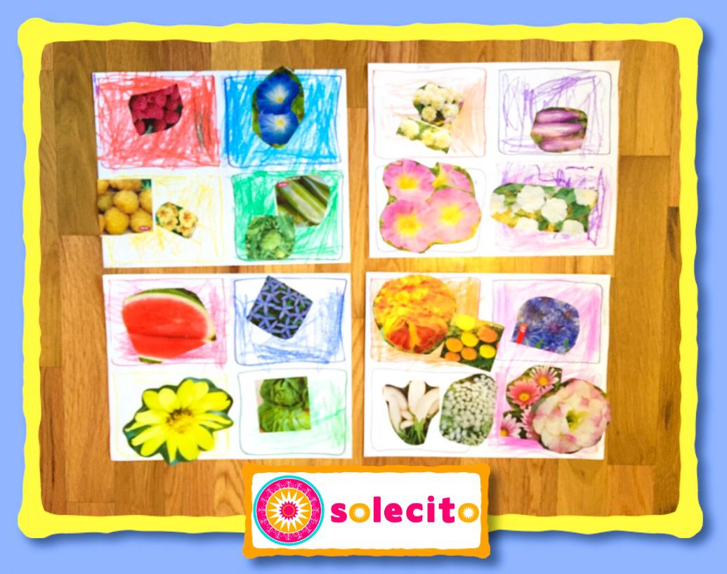 Sorting Colors And Nature Lecitoschool