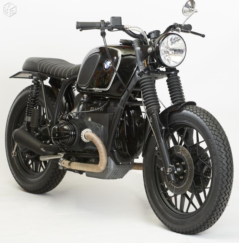 Bmw R100 R80 R90 Cafe Racer Mcso Performance Motos Lot Et Garonne Leboncoin Fr Aventure Moto Motos Bmw R80