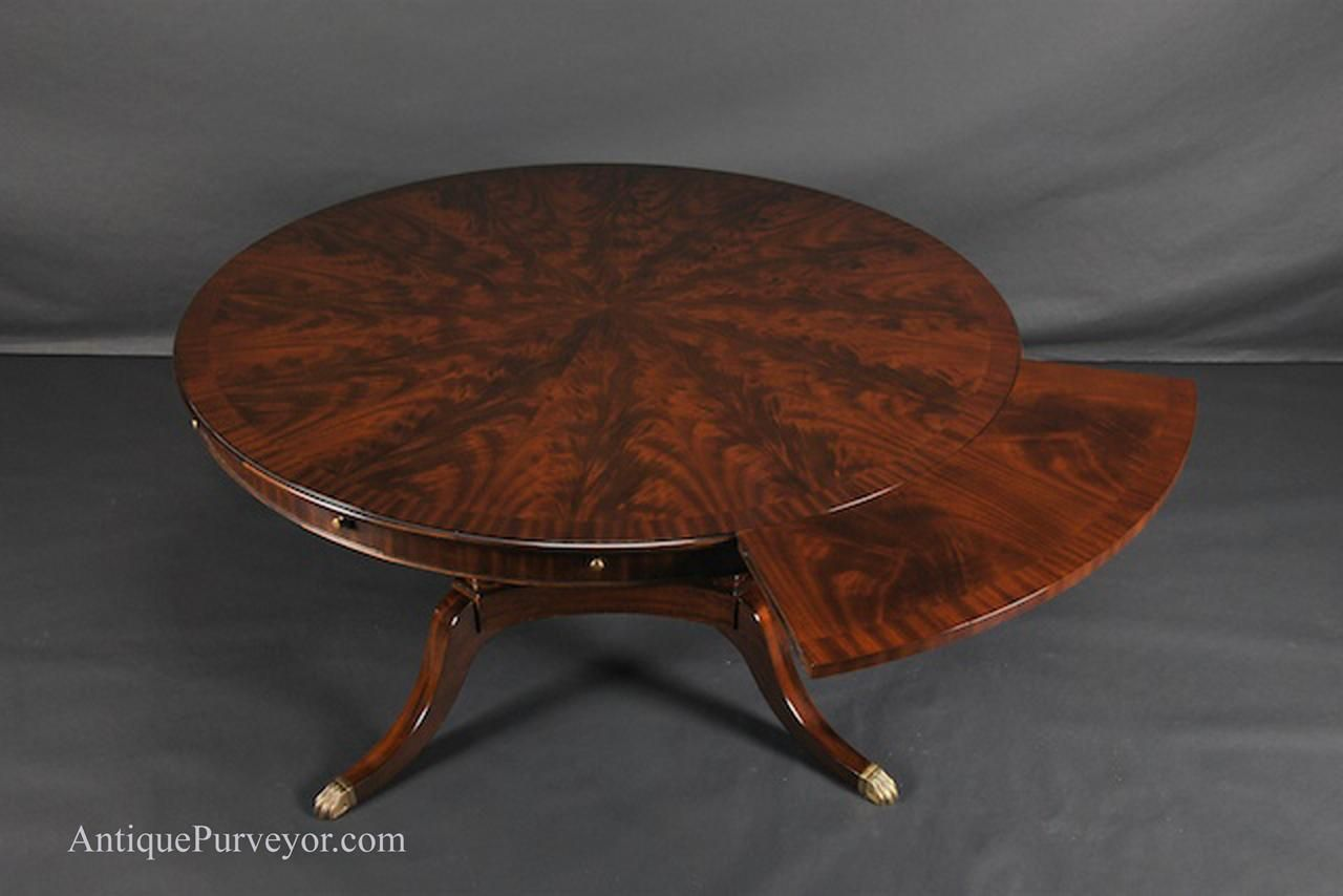large round dining tables seats 10 | Unique dining room ...