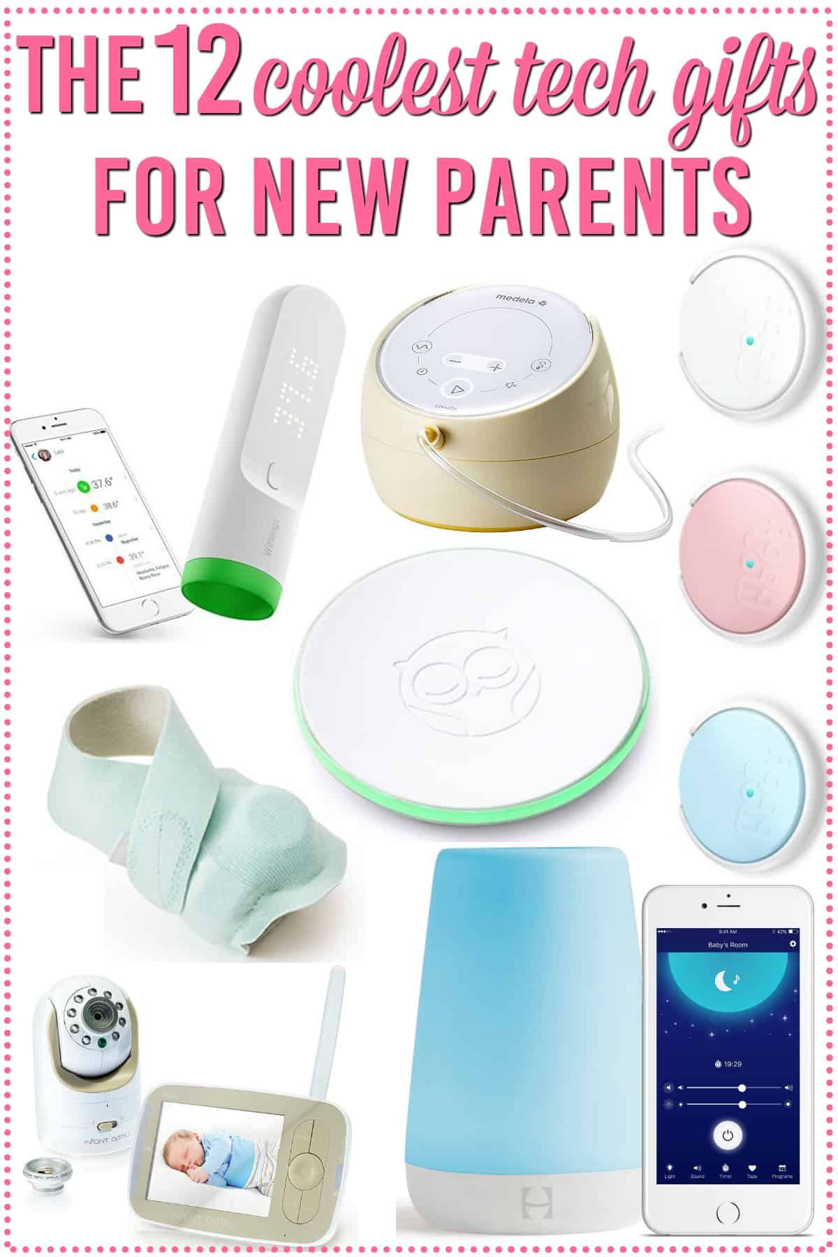 the 12 best tech gifts for new parents | blogger projects