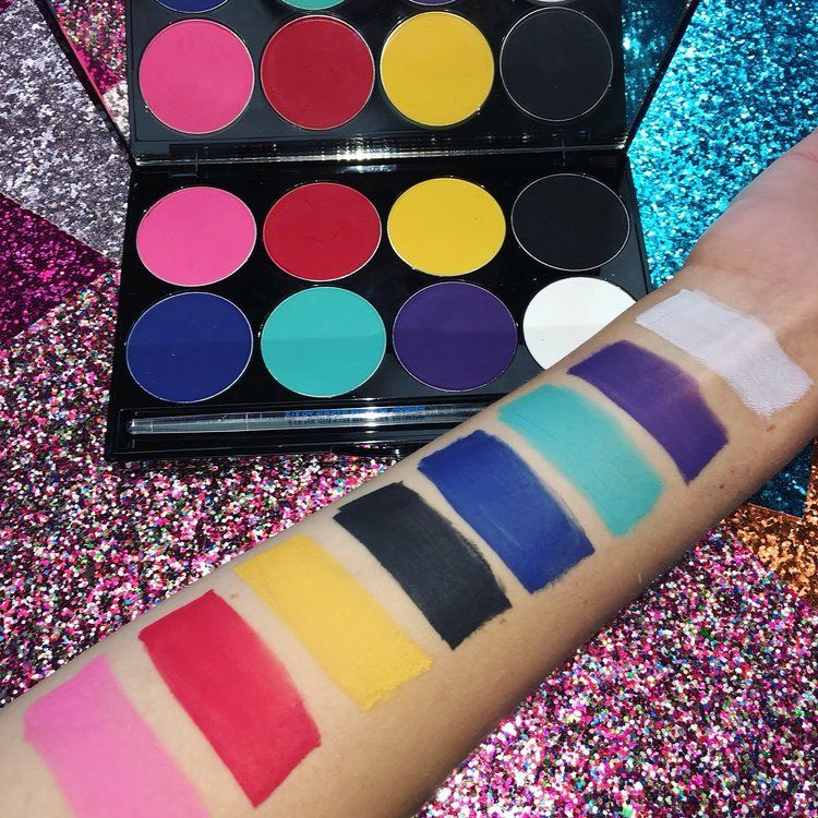 Mehron Face Paint Palette in 2020 Body painting, Face