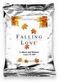 Falling In Love Personalized Coffee Favor - $1.29 | Wedding ...