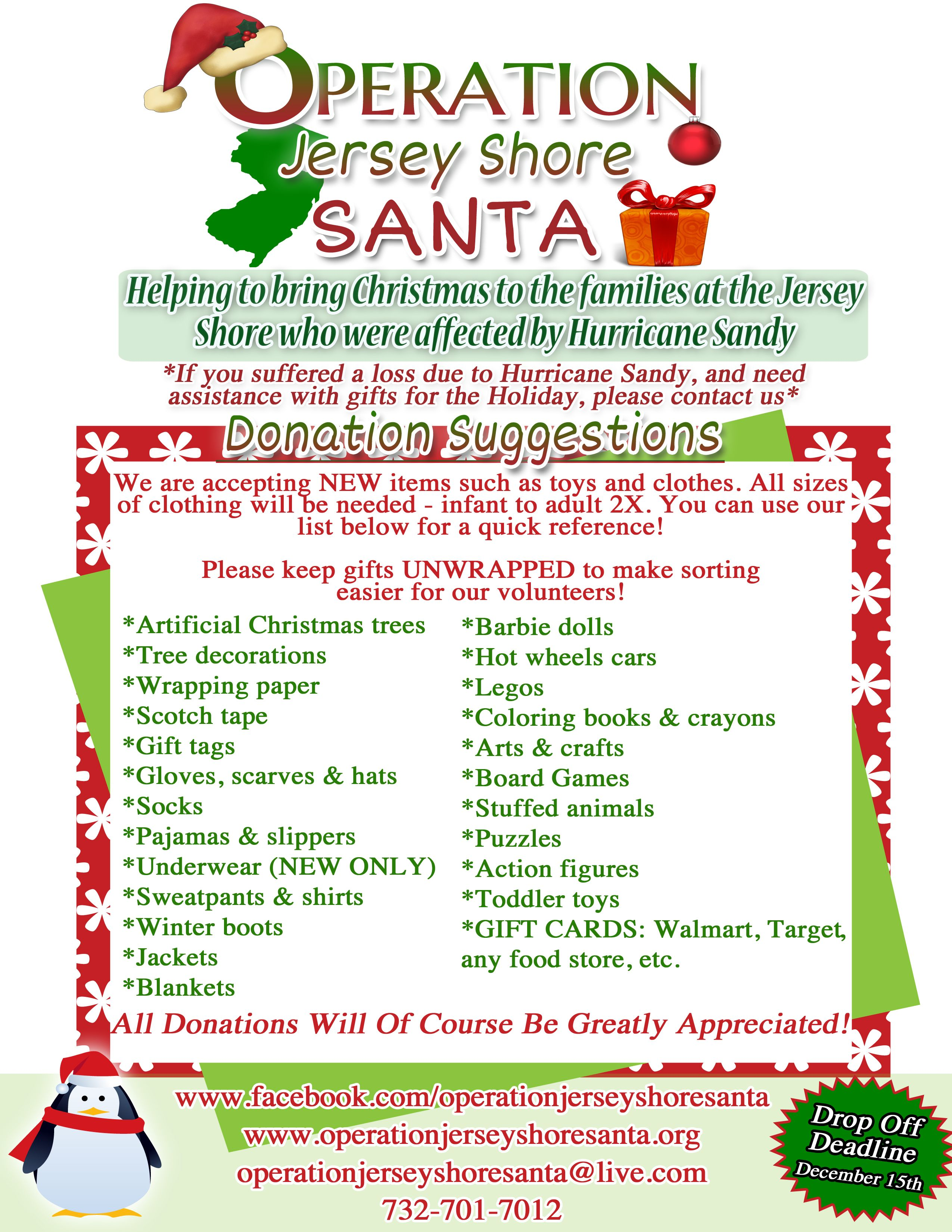 Salons for the Jersey Shore Operation Jersey Shore Santa