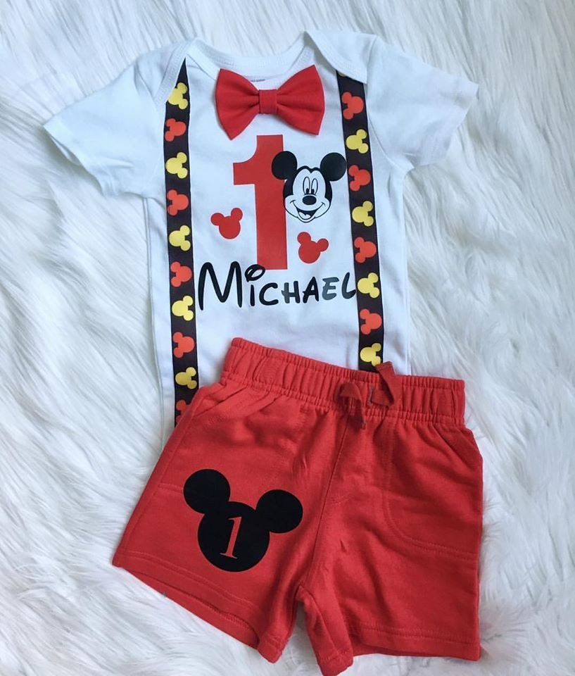 Purchase Mickey Mouse First Birthday Outfit Up To 74 Off