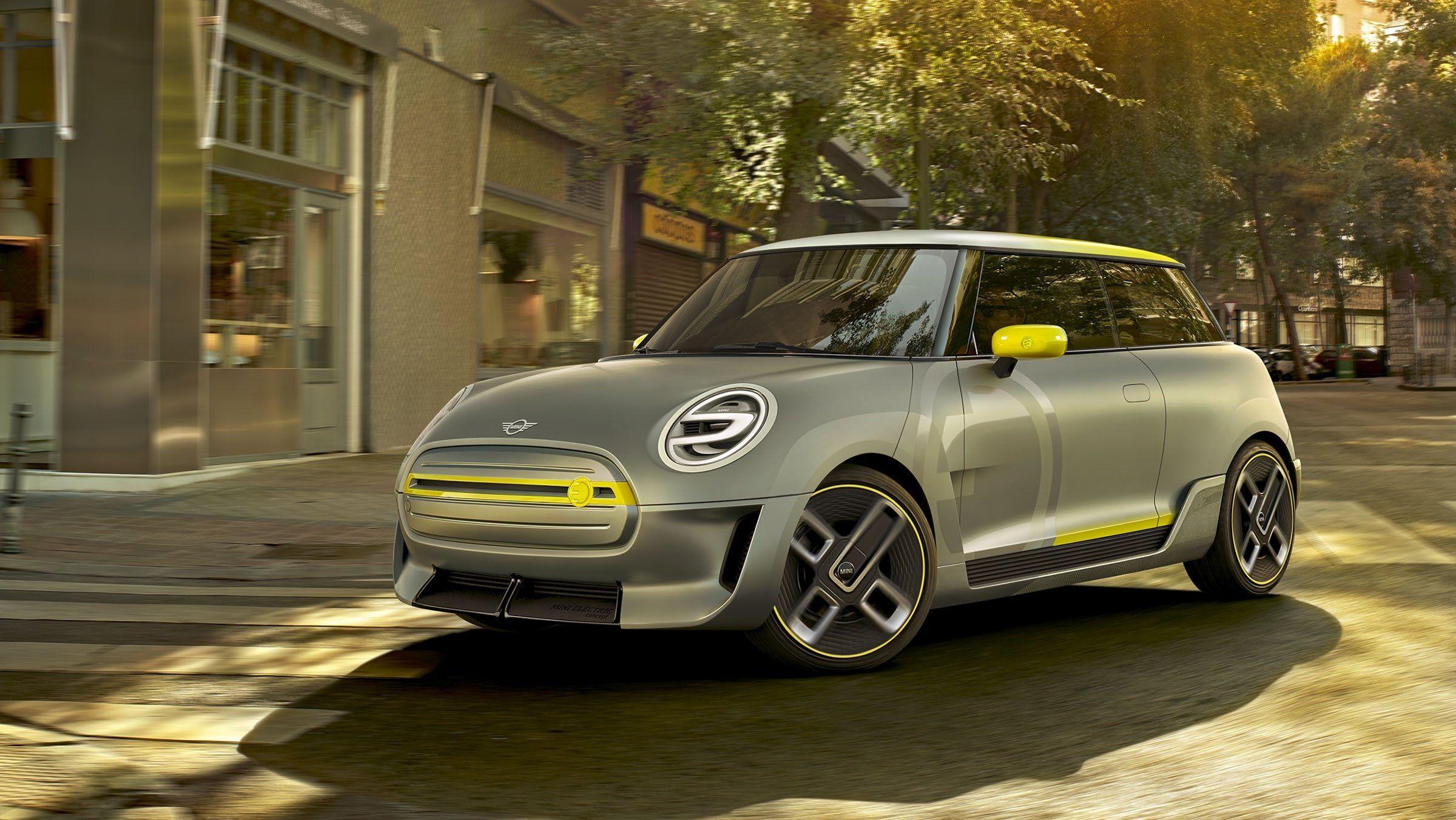 2017 Mini Electric Concept Carros Compactos Carros Eletricos