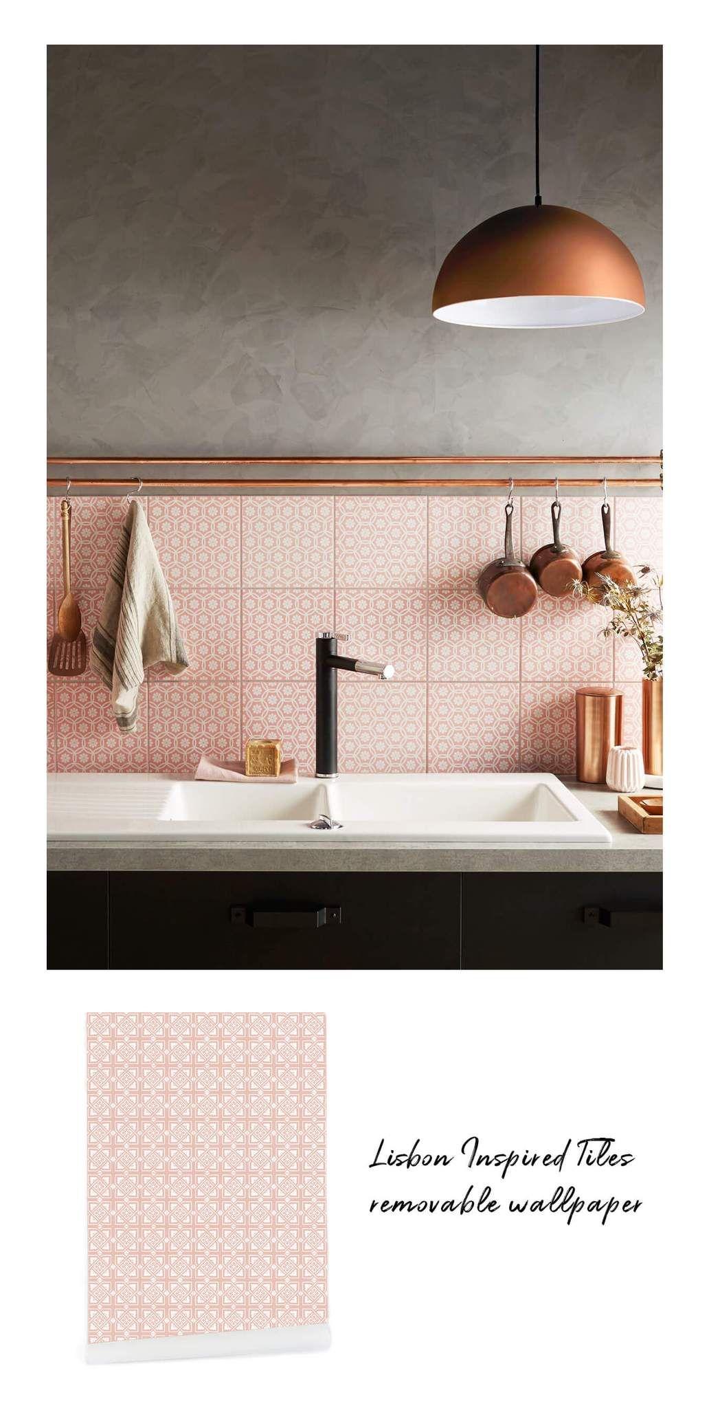 Kitchen Design Ideas Get The Look With Livette S Wallpaper Bathroom Decor Luxury Copper Interior Grey Bathrooms