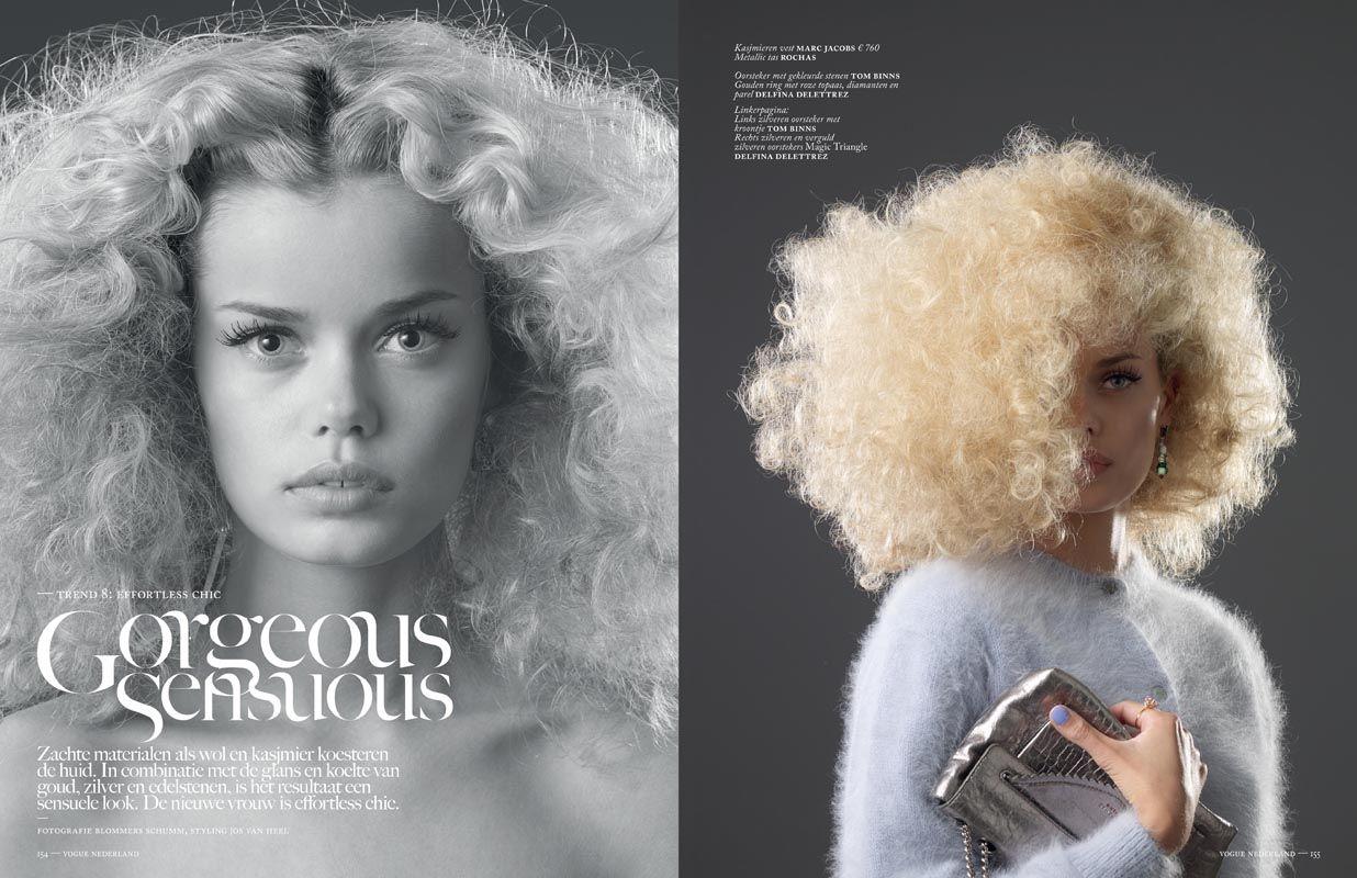Styling: Jos van Heel @ House of Orange. Photography: Blommers Schumm. Job: Vogue NL.