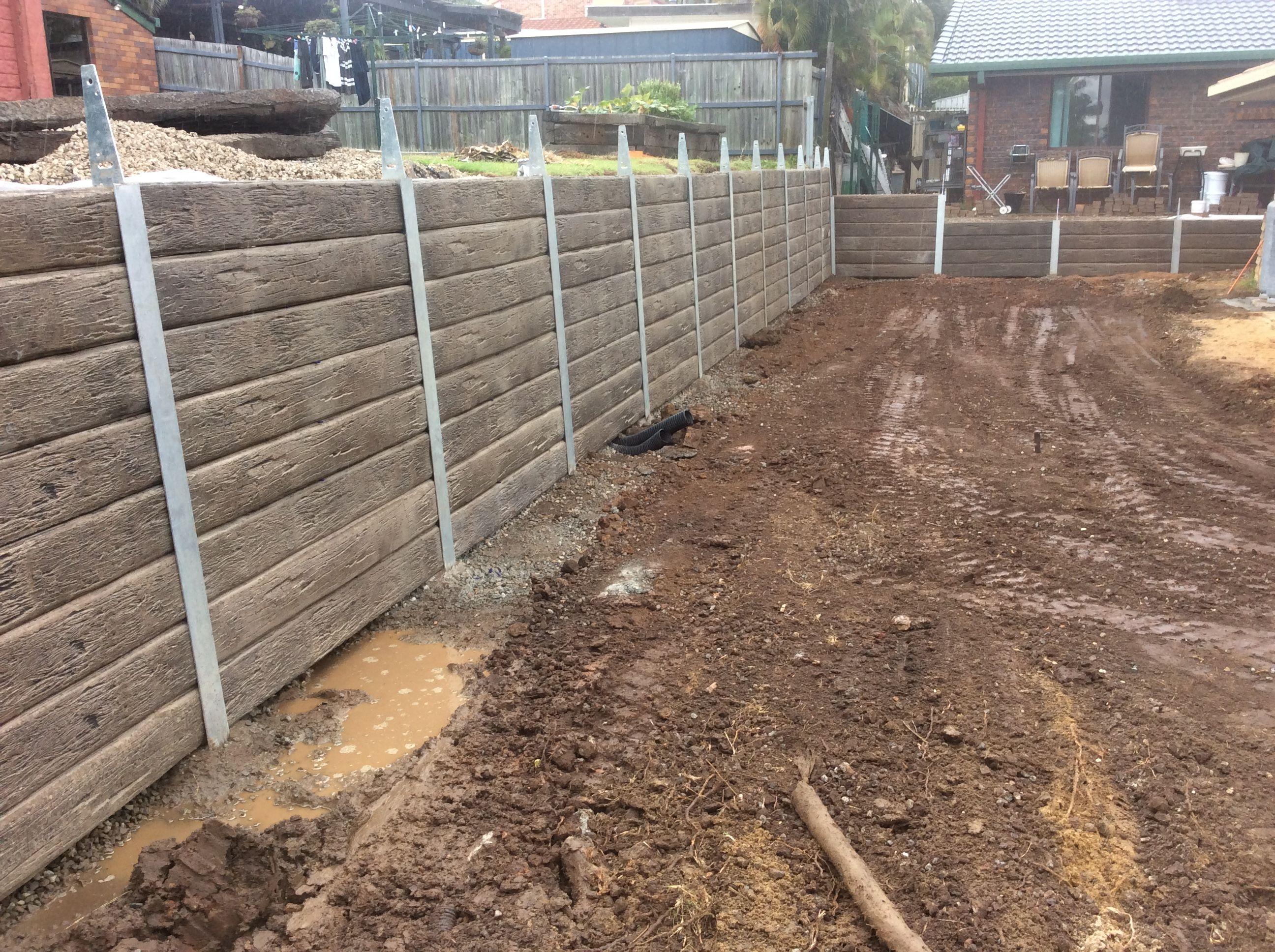 Pioneer Ironbark Concrete Sleeper Retaining Wall Visit Www Aussieconcreteproducts Co Building A Retaining Wall Retaining Wall Concrete Sleeper Retaining Walls