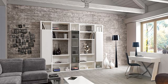 mur pierre de parement gris clair recherche google my home pinterest salon mobilier de. Black Bedroom Furniture Sets. Home Design Ideas