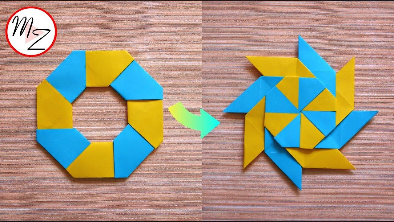 Origami for Kids - Origami Dog Tutorial (Very Easy) - YouTube   720x1280