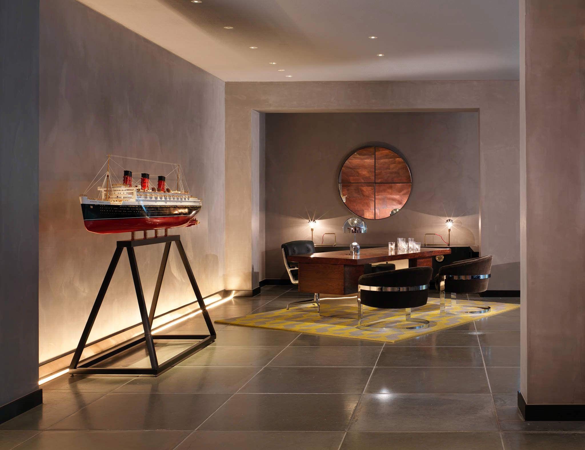 Mondrian London Hotel interiors by Tom Dixon Design Father Lobby