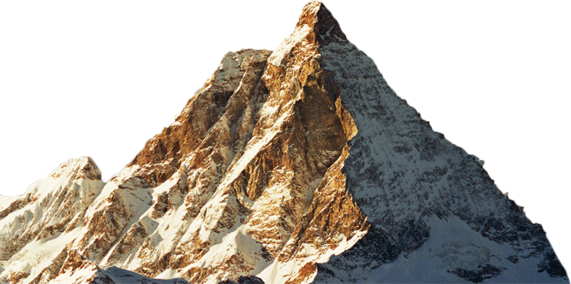 Mountain With Snow Png Image Png Collage Art Photo