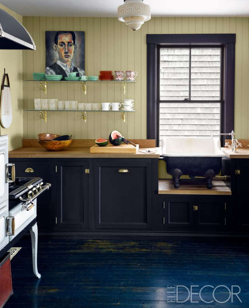 En esta cabaña de Cape Cod, los muebles a medida de la pequeña ...