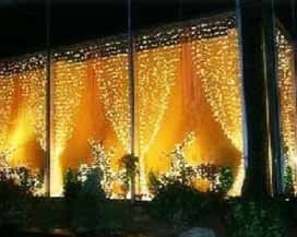4m 3m 1200leds Led Curtain Light Christmas Festival Home Background Wall Decoration Led String Net