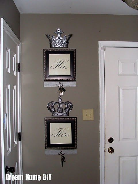My Same Crowns From Hobby Lobby Might Try This Cute Idea Alluring King And Queen Bedroom Decor Inspiration Design