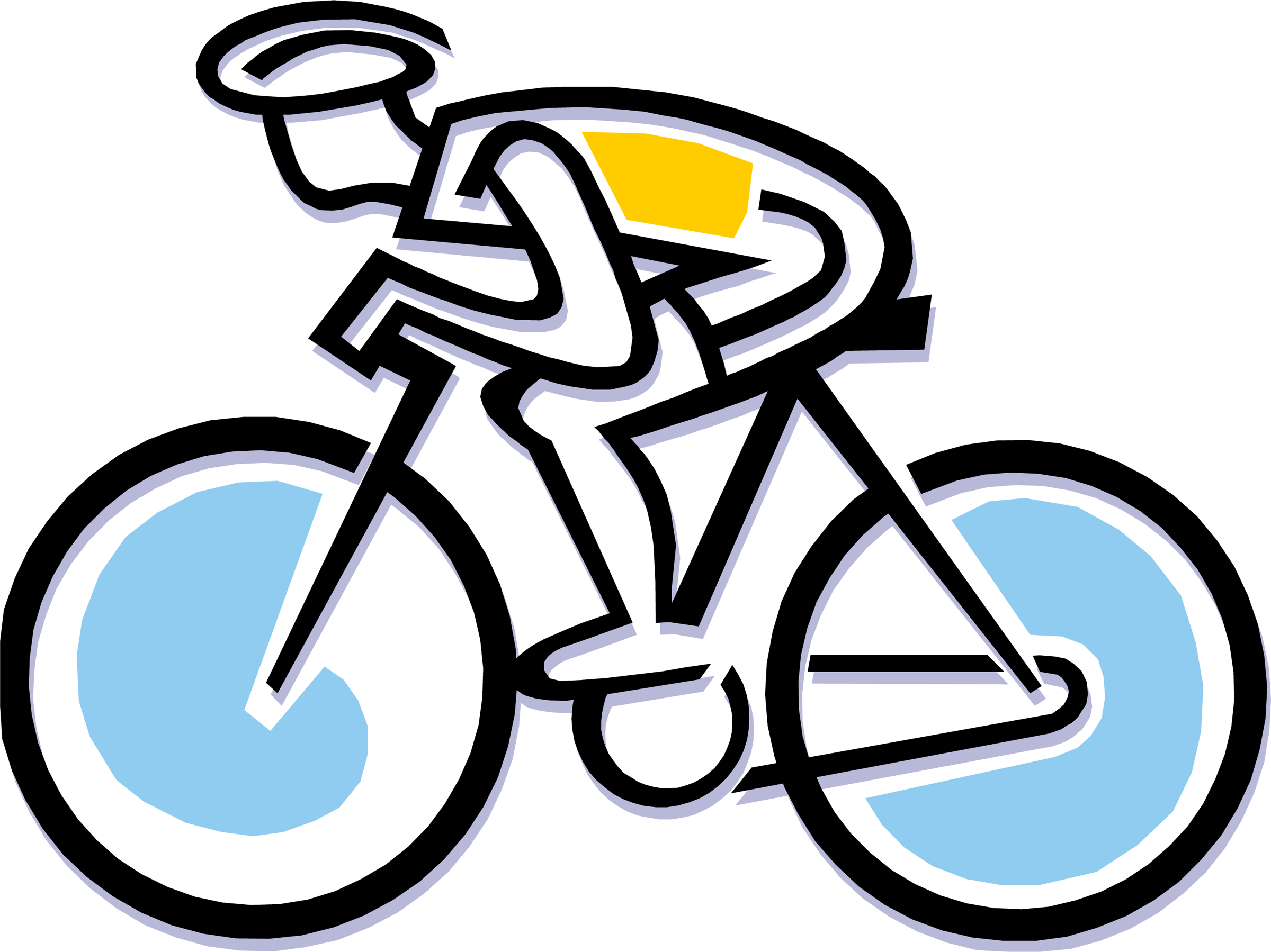 bike animated logo png 2400 1799 cycling pinterest
