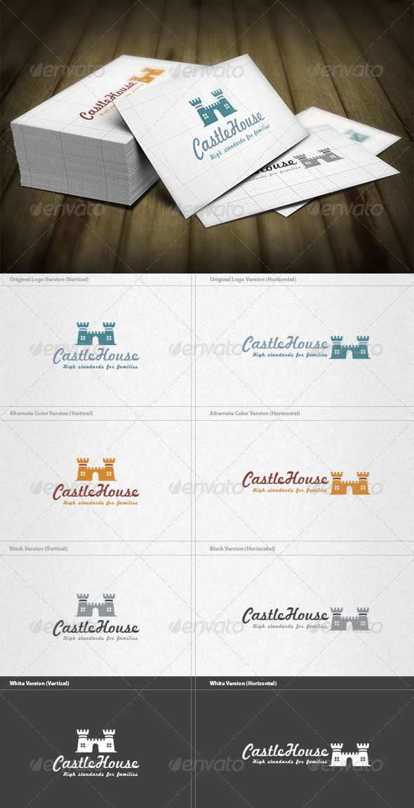 Castle House Logo House logos, Logos and Building logo - basic rental agreement letter template