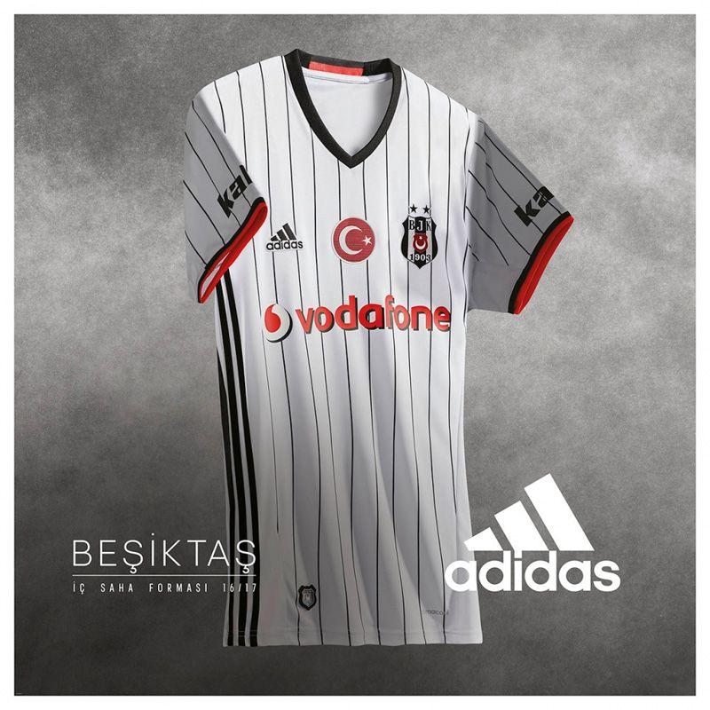 Camisas do Besiktas 2016-2017 Adidas Titular 5800b67c19b02