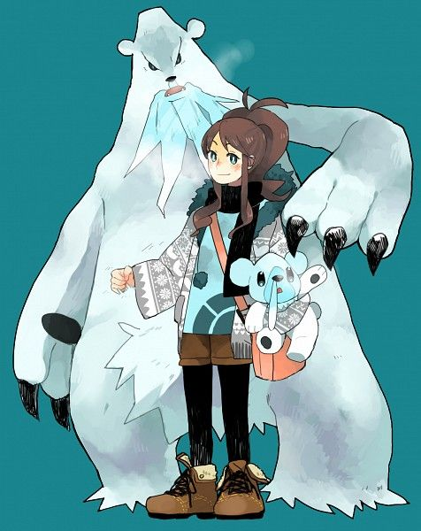 Touko Cubchoo Beartic Gotta Pin Em All Pokémon Pinterest