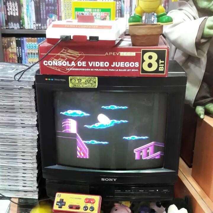 Family Modelo Clasico Con 114 Juegos No Se Repite Ningun Titulo Y